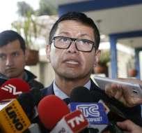 El Fiscal Fabián Salazar se refirió al diferimiento de las versiones de Fernando Alvarado y los hermanos Bravo. Foto: API