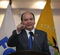 Contra el fiscal Carlos Baca Mancheno existe una indagación previa por peculado. Foto: API