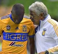 Enner Valencia y Ricardo Ferretti expresaron sus puntos de vista respecto a la rotación del plantel.
