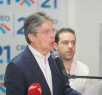 """Guillermo Lasso pidió esta mañana una """"depuración en la administración pública"""". Foto: archivo"""