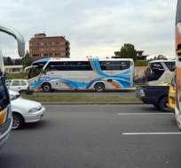 Solo 1 de los 10 gremios de transportistas impulsa el la suspensión del servicio. Foto: API