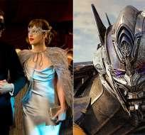 Ambas películas cuentan con casi todas las nominaciones a los Razzies. Foto: tomada de internet