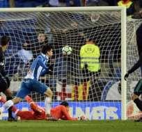 Los 'merengues' pierden también una racha de 5 victorias seguidas en partidos oficiales. Foto: AFP