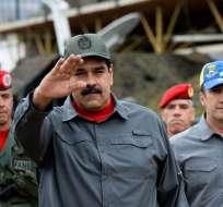 Nicolás Maduro inscribió su candidatura sin oponentes de peso. Foto: Archivo