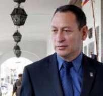 César Carrión es uno de los expolicías sentenciados por la revuelta policial del 2010 quien pide reabrir las investigaciones.