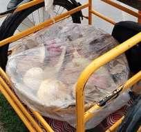 MÉXICO.- El vendedor de pan mexicano busca atraer nuevos clientes al puro estilo musical del rap. Fotocaptura del video