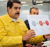 Mandatario de Venezuela reajustó el ingreso mínimo cinco veces en 2017. Foto: Twitter Nicolás Maduro