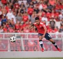 El volante Fernando Gaibor es una de las figuras del equipo que dirige Ariel Holan.