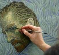 """El filme """"Loving Vincent"""" está basado en un guión original del escritor polaco Jacek Dehen. Foto: AFP"""
