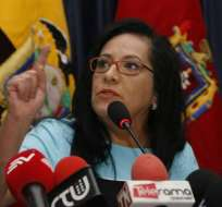 "Dos casos ocasionan la ""molestia"" del fiscal Baca Mancheno, según Thania Moreno. Foto: API"