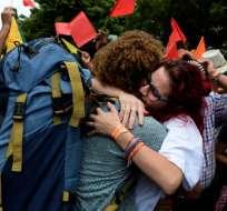 Colombia calcula que unos 600.000 venezolanos permanecen en el país. Foto: AFP
