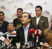 QUITO, Ecuador.- Héctor Yépez propuso que comisión internacional investigue corrupción en Ecuador. Foto: API