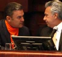 ECUADOR.- Según el mandatario, José Serrano debe asumir las consecuencias de su error. Foto: Archivo