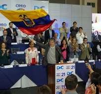 El líder de CREO apoya que se inicie un proceso de juicio político en contra de Baca. Foto: Twitter