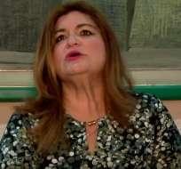 María Elsa Viteri se despeñó como asesora en Senagua y Miduvi en la administración correísta. Foto: internet