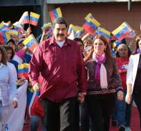 En las presidenciales del 20 de mayo, Maduro busca su reelección hasta 2025. Foto: Twitter Presidencia Venezuela