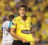 Juan Ignacio Dinenno arrancaría de titular con Barcelona ante Delfín en el Jocay.