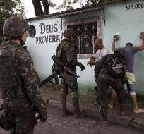 Los ataques también dejaron varios heridos en Fortaleza. Foto: Archivo AP