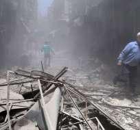 Fuerzas del régimen han reconquistado más de la mitad de la región. Foto: Archivo AFP