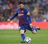 Lionel Messi hizo el anuncio oficial a través de su cuenta de Instagram. Foto: AFP