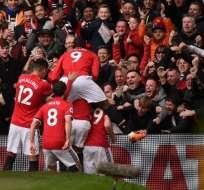 Los 'diablos rojos' se afianzaron en el segundo puesto de la Premier League. Foto: AFP