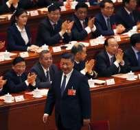 Casi 3.000 delegados de la Asamblea aprobaron sin sorpresas la medida. Foto: AP