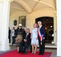 El mandatario Lenín Moreno estuvo entre los 1.300 invitados a la ceremonia. Foto: Flickr Presidencia