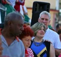 Cubanos sufragan el domingo para elegir a su nuevo Parlamento. Foto: AFP
