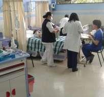 GUAYAQUIL, Ecuador.- Los 3 hermanos del fallecido se encuentran hospitalizados por ingerir la misma sustancia. Foto: vistazo