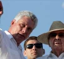 Miguel Díaz-Canel actualmente funge como vicepresidente de los consejos de Estado y de ministros de Cuba. Foto: americateve.com