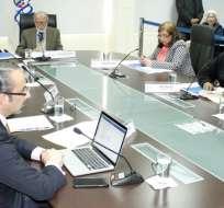 Consejo Transitorio inició evaluación de las autoridades de todo el país. Foto: CPCCS-T