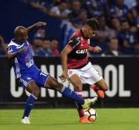 Emelec no pudo vencer a Flamengo y cede tres puntos en condición de local.