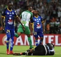 Los 'Cetáceos' perdieron 4-0 por la segunda fecha del grupo 2 de la Libertadores. Foto: AFP