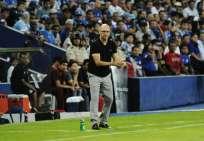 El entrenador uruguayo fue muy autocrítico con el equipo. Foto: API