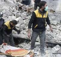 La ONU estima que cerca de 400.000 personas estarían atrapadas en varias ciudades. Foto: AP