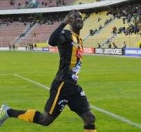 Edison Carcelén le dio el gol de la victoria a The Strongest por Conmebol Libertadores.