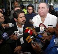 QUITO, Ecuador.- Bucaram Pulley responsabiliza a Espinosa de los casos de violación ocurridos en escuelas. Foto: API.