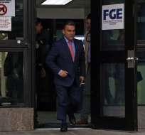Expresidente de Asamblea acudió tras un tercer llamado de Fiscalía. Foto: API
