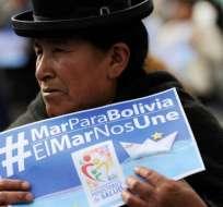 """Las protestas reclamando """"Mar para Bolivia"""" y una salida al Pacífico son frecuentes en el país andino. Foto: AFP"""