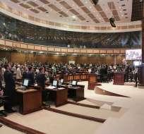 La presidenta de Legislativo dispuso la suspensión; no se conocen las razones. Foto: Archivo Flickr Asamblea