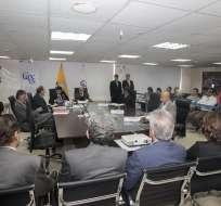 Durante comparecencias también pidieron censusar a presidente de la Judicatura. Foto: API