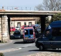 Las fuerzas del orden matan al autor de la toma de rehenes en Francia. Foto: AFP