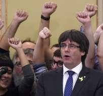 La policía alemana arrestó al líder catalán Puigdemont. Foto: Archivo - AFP