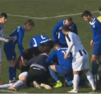 El jugador Bruno Boban murió en pleno partido por la tercera división de Croacia.