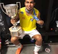 El ecuatoriano Junior Sornoza entró en la historia del Fluminense, campeón del Estadual Carioca.