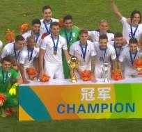 La 'Celeste' ganó la China Cup en cotejo de preparación previo a Rusia 2018.