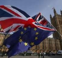 LONDRES, Reino Unido.- El país británico abandonará la Unión Europea el 29 de marzo del 2019. Foto: AFP