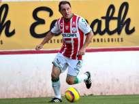 El exjugador de D. Quito y Liga de Quito es uno de los históricos del club mexicano. Foto: Tomada de @ClubNecaxa