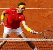 La última vez que estuvo Nadal con el equipo español de la Davis fue en septiembre de 2016.