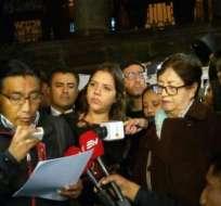 Comunicadores exigen que regresen vivos los integrantes de equipo periodístico secuestrado. Foto: API